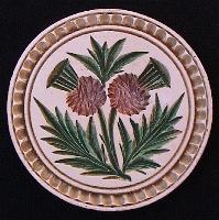Double Thistle Butter Stamp (#3)